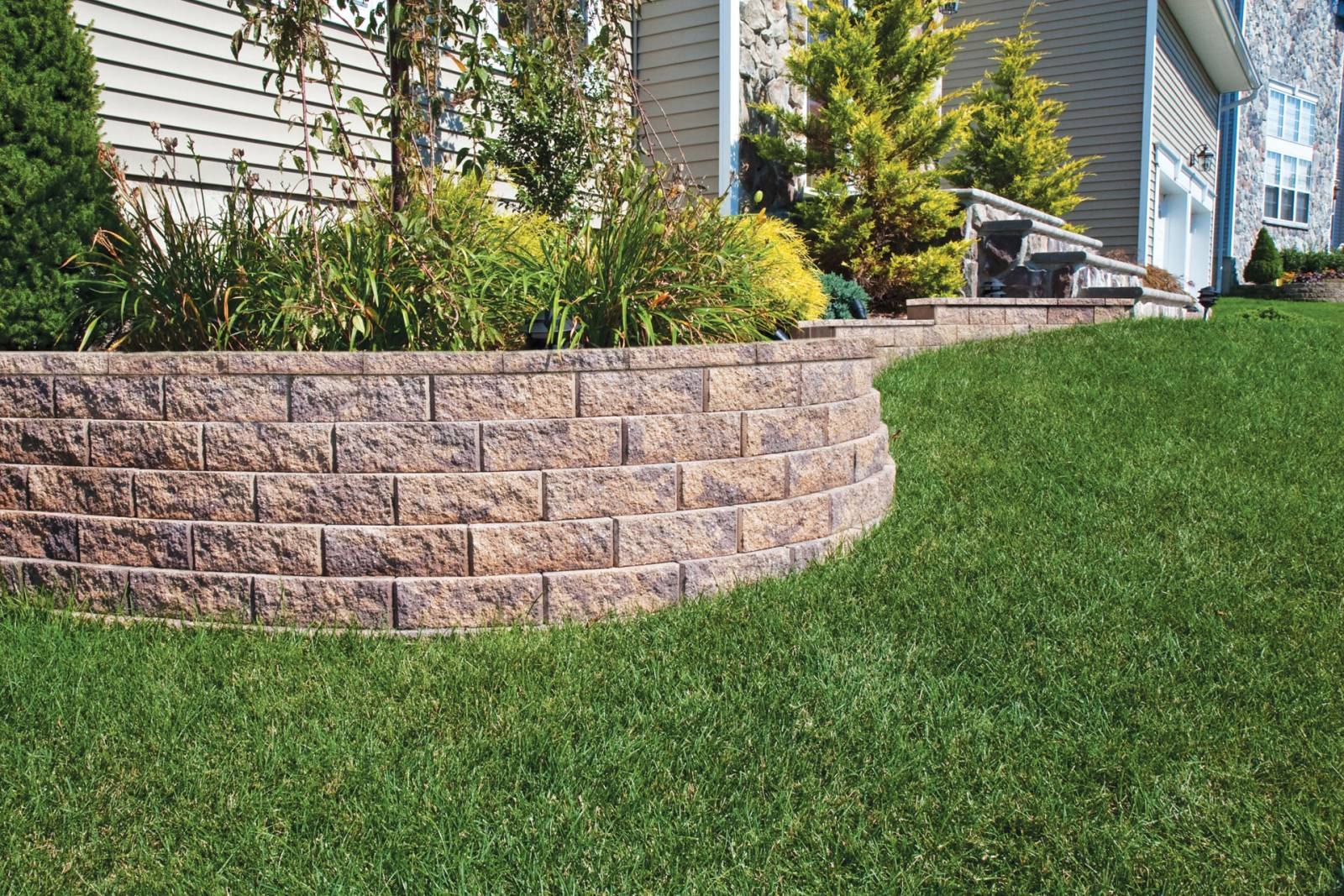 Garden Wall 4 Libertystone Hardscaping Systems