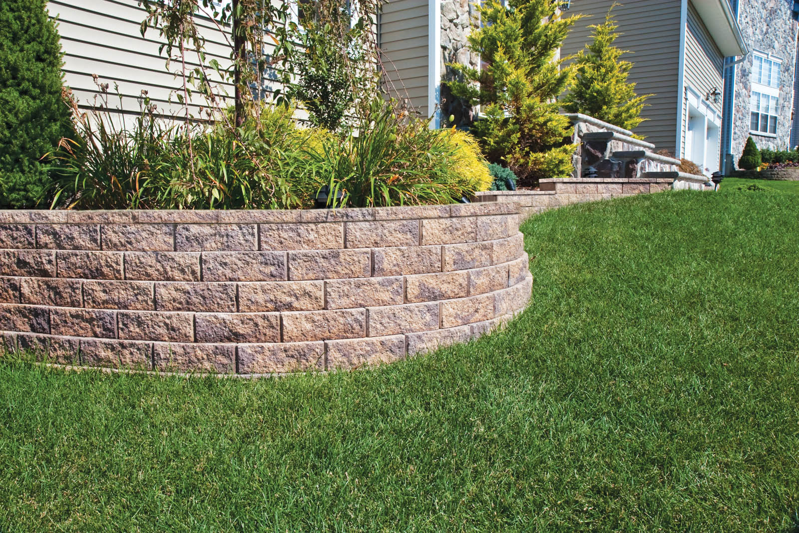 Garden Wall Walls In Sheffield Check A Trade Approved Pavers Odd Wiring Ceiling Rose Diynotcom Diy And Home Improvement 4 Libertystone Hardscaping Systems